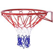 18'' Basketball Hoop Net Ring Wall Mounted Outdoor Hanging Basket Backboard