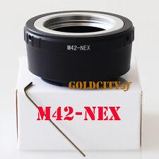 M42 to Sony E Mount Lens Adapter for NEX 5 NEX-7 NEX-C3 NEX-5N NEX-VG10 M42-NEX