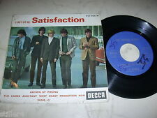 The ROLLING STONES SATISFACTION + 3 * RARE French Unique 4 Track 60s PE *