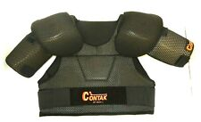 New Nos Contak Sp 2500 Xl Ice Hockey Shoulder Pads Black Size: Men'S Extra Large