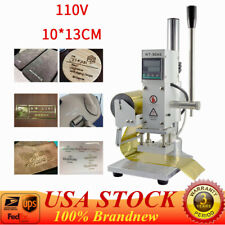 Hot Foil Stamping Machine Tipper Stamper Bronzing Card Foil Logo Embossing 10*13