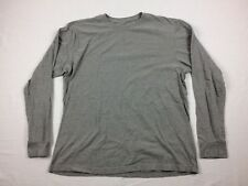 Nike - Gray Cotton Long Sleeve Shirt (Size 2XL) - Used