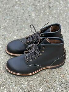 Buty Red Wing Heritage Blacksmith Black Prarie Boots 3345 Men's US 7D