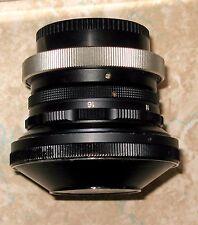 Sigma / Spiratone 12mm f/8.0 Fisheye Lens Canon FD Mount