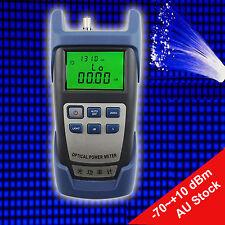 Optical Power Fiber Meter -70~+10 dBm Optical Fiber Power Meter Measuring Device