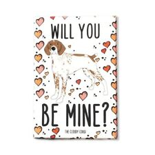 German Shorthaired Pointer Dog Hearts Magnet Valentines Day Gift Holiday Decor