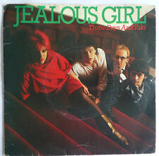 "JEALOUS GIRL - Three Days And Riki, 1982 7"" Vinyl Single."