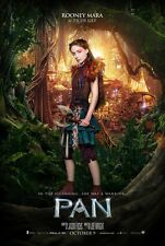 "Pan movie poster Peter Pan poster Rooney Mara (style b) (2015)  -  11"" x 17"" an"