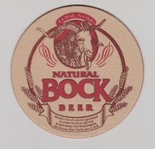 Lone Star Natural Bock Beer Coasters - Sleeve of 100 Bar Pub Pack