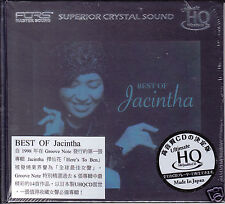 """The Best Of Jacintha"" Japan Ultimate HQCD UHQCD Audiophile Jazz CD New Sealed"