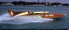 GALE V - 1955 GOLD CUP WINNER 1:12 Scale Fiberglass RC Boat Hull Kit - USA Made!