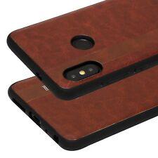 Cover Xiaomi Redmi Note 5 Originale Noziroh Effetto Pelle Fashion Frame Silicone
