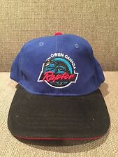 New Vintage Owen Canada Raptors Baseball Style Hat Strap Back Blue Cap