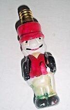 """Rare Vintage Jiminy Cricket Christmas Light Bulb 3"""" Excellent Original Paint"""