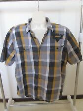 HARLEY DAVIDSON WORK GARAGE MECHANIC SHIRT MEN'S SIZE 2XL