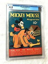 Mickey Mouse Magazine vol 2 #8 Walt Disney Prod. CGC 4.5 May 1937 platinum age