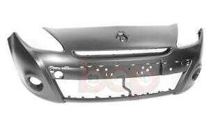 """RENAULT CLIO 2009 - 2012 FRONT BUMPER 15"""" WHEELS ONLY PRIMED NO PDC OR WASH BUMP"""