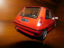 renault 5 r5 super 5 gt turbo rouge 1/18 1:18 otto ottomobile ottomodels boxed