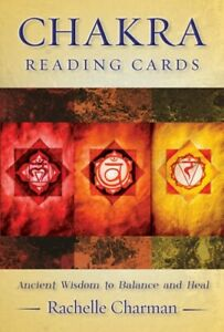 Chakra Reading Cards by Rachelle Charman New (36 Cards + Guidebook)
