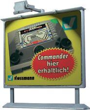 Werbetafel mit LED  //  Viessmann 6336  / Spur  H0