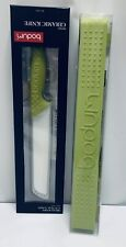 New Bodum Bistro Knife Holder Matching Bread Knife Lime-Green Block Wall Mount