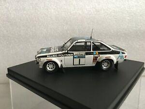TROFEU 1014 Ford Escort MkII #1 Winner Rallye RAC 1975 Makinen- Liddon 1/43
