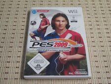 Pes 2009 Pro Evolution Soccer para Nintendo Wii y Wii U * embalaje original *
