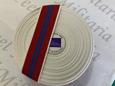 One Metre Full Size Queen's Coronation Medal Ribbon.