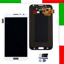 PER SAMSUNG BIANCO GALAXY NOTE 2 N7100 DISPLAY LCD & TOUCH SCREEN SCHERMO RETINA