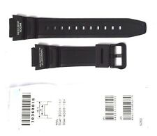 CASIO WATCH BAND: 10360816  BAND FOR SGW300 SGW400 Black Resin Band