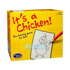 It's A Chicken! A Drawing Game For Kids with Pre Printed Shape Sheets Fun Game f