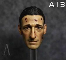 Custom 1/6 Battle Damaged Royce Head Sculpt  for HT Phicen  Action Figure Body