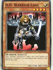 Yu-Gi-Oh - 1x D.D. Warrior Lady - YS14 - Super Starter Space-Time Showdown
