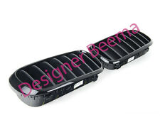 BMW X5 X6 F15 F16 M Performance Kidney Grille Set Noir Brillant (JS)