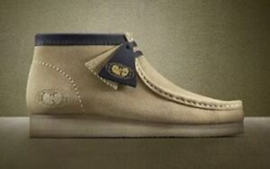 Wu Tang X Clarks Wallabee 25th Anniversary Maple Wu Wear Shoes