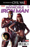 INVINCIBLE IRON MAN #7 1ST APPEARANCE OF RIRI WILLIAMS 3RD PRINT CIVIL WAR II