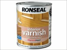 Ronseal - Interior Varnish Quick Dry Satin French Oak 250ml