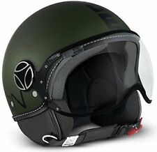 CASQUE MOMO DESIGN CLASSIC GREEN MATT - BLACK TAILLE M