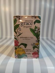 PHILOSOPHY Amazing Grace Bergamot EDT 2oz/60mL Womens Spray NEW SEALED BOX