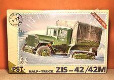 1/72 PST HALF-TRACK TRUCK ZIS-42 M MODEL KIT # 72032