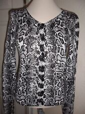 H&M Cotton Animal Print Long Sleeve Women's Jumpers & Cardigans