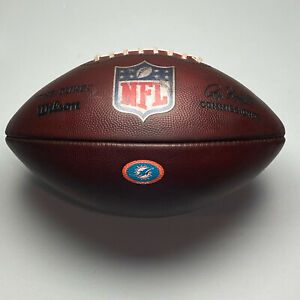 2020 Miami Dolphins Game Issued Wilson The Duke NFL Football - TUA Rookie Year