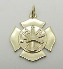 JAMES AVERY RETIRED 14K YELLOW GOLD FIREFIGHTERS CHARM -  RARE FIND - LB3043