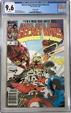 Marvel Super-Heroes Secret Wars #9 CGC 9.6 ~CANADIAN VARIANT~KEY ISSUE!L@@K!