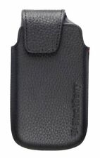 Genuine Blackberry Black Leather Swivel Holster Torch 9850 9860 ACC-38960-201