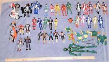 Power Rangers Action Figure Lot - 30+ Figures !!!