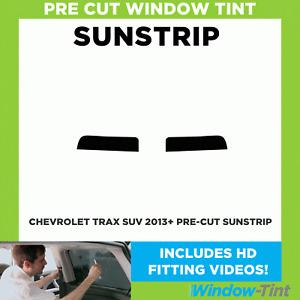 Pre Cut Sunstrip - Chevrolet Trax TODOTERRENO 2013 Window Tint