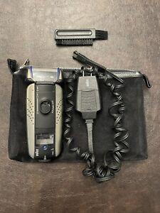 Braun 7680  Men's Shaver Works but defect READ DESCRIPTION Charger/Case included