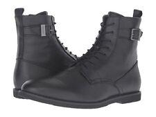 Brand New Calvin Klein Men's Farrin Tumbler Action Dark Brown Ankle Boot