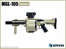 """MGL -105 (Desert) Multiple Grenade Launcher by ZY Toys 1/6th Scale for 12""""Figure"""